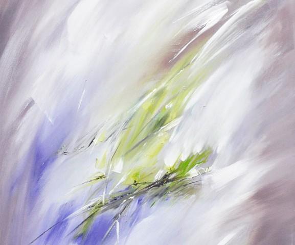 In bloei  /  Olieverf op doek